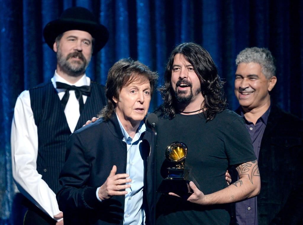 Krist Novoselic, Paul McCartney, Dave Grohl, Pat Smear, Grammy's