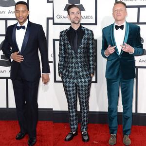 Best Dressed Men, GRAMMYS 2014