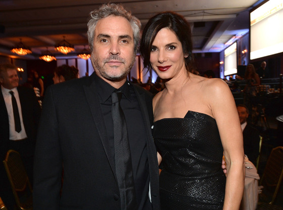 Alfonso Cuaron, Sandra Bullock