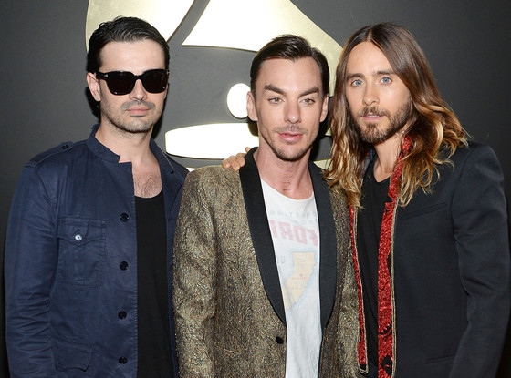 Tomo Milicevic, Shannon Leto, Jared Leto, Grammy Awards