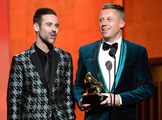 Ryan Lewis, Macklemore, Grammys Winners