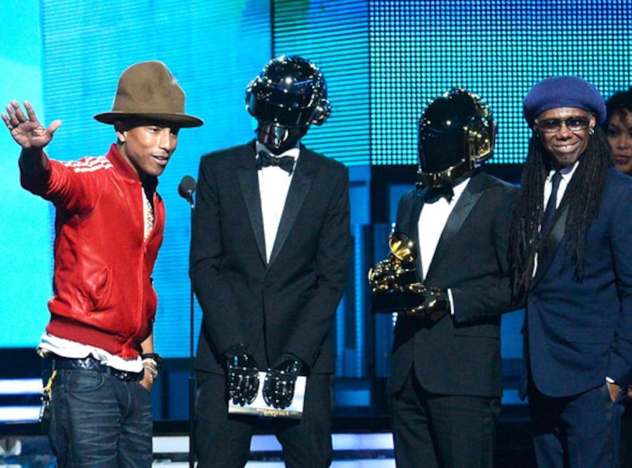Pharrell Williams, Daft Punk, Nile Rodgers, Grammy's
