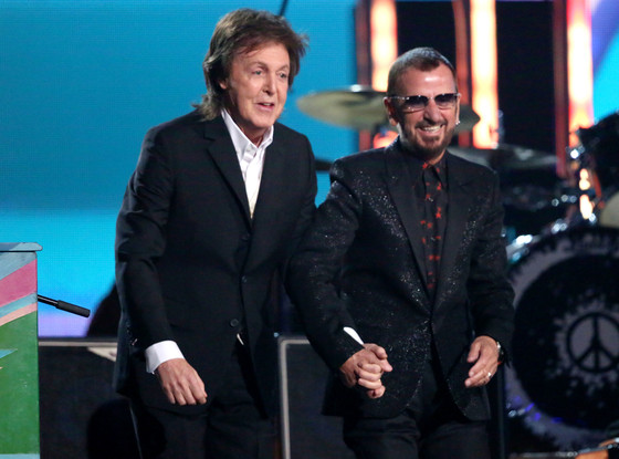 Paul McCartney, Ringo Starr, Grammy Awards