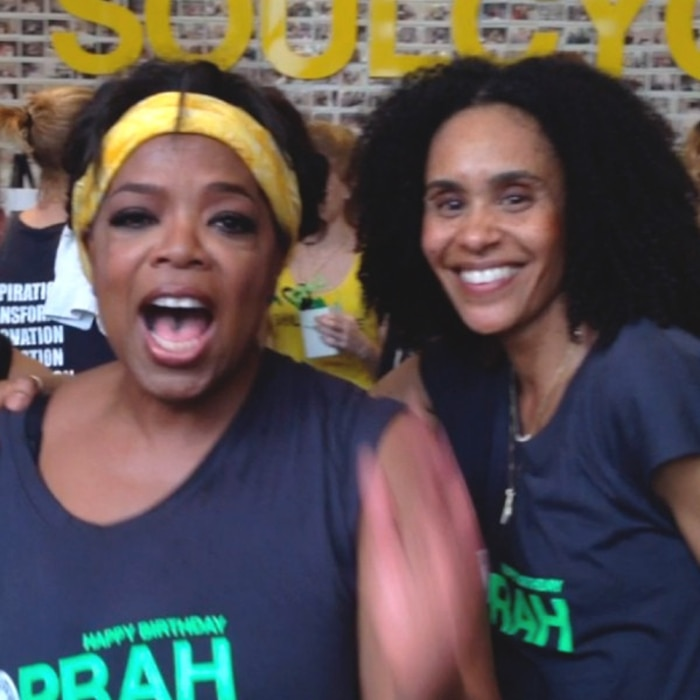 Oprah happy