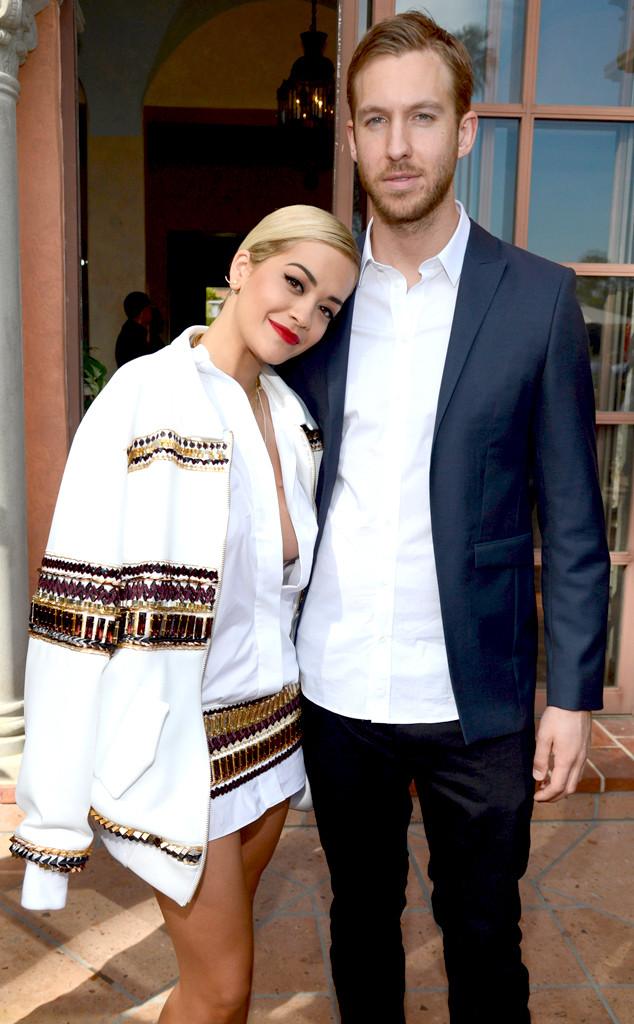 Rita Ora, Calvin Harris, Roc Nation Grammy Brunch