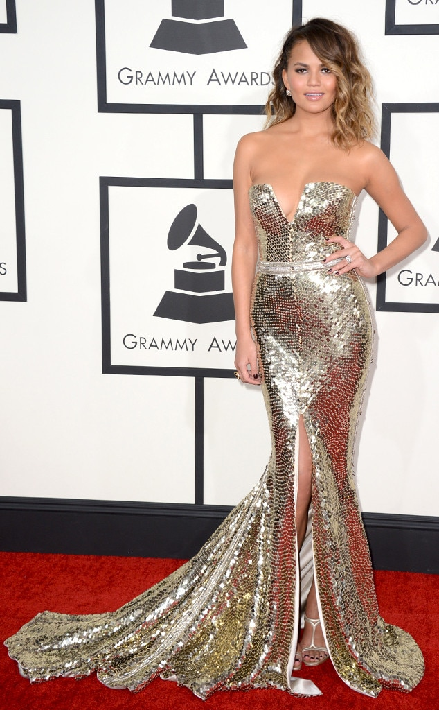 Christine Teigen, 56th annual GRAMMY