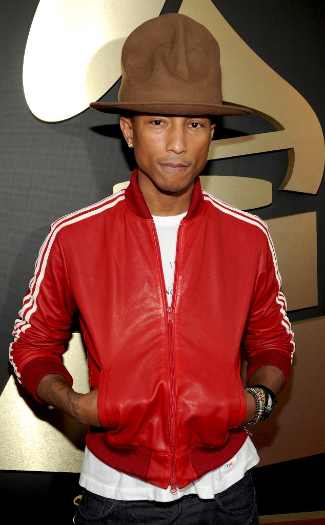 Pharrell S Grammys Hat Is Gigantic And Obviously It