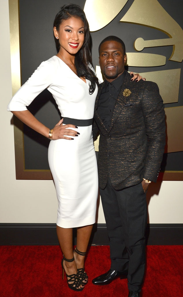 Eniko Parrish, Kevin Hart, Grammy Couples