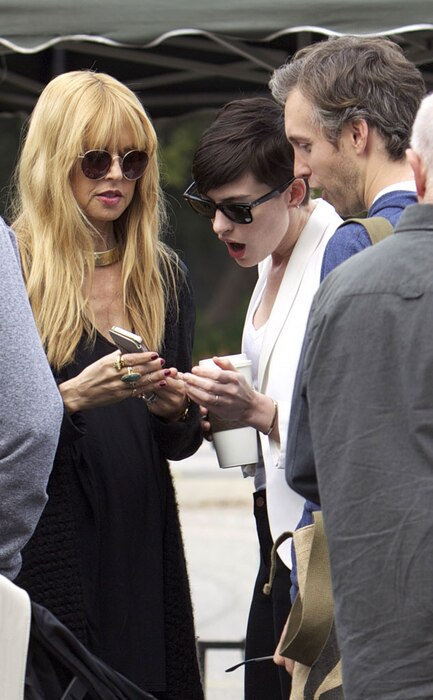 Anne Hathaway, Adam Shulman, Rachel Zoe