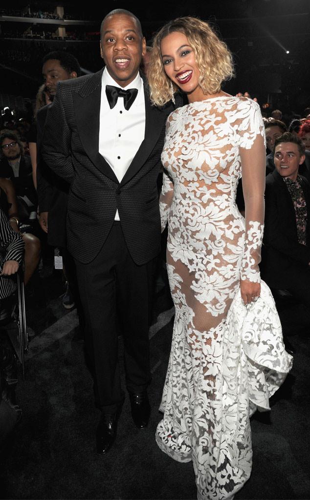 Jay-Z, Jay Z, Beyonce, Grammys Candids