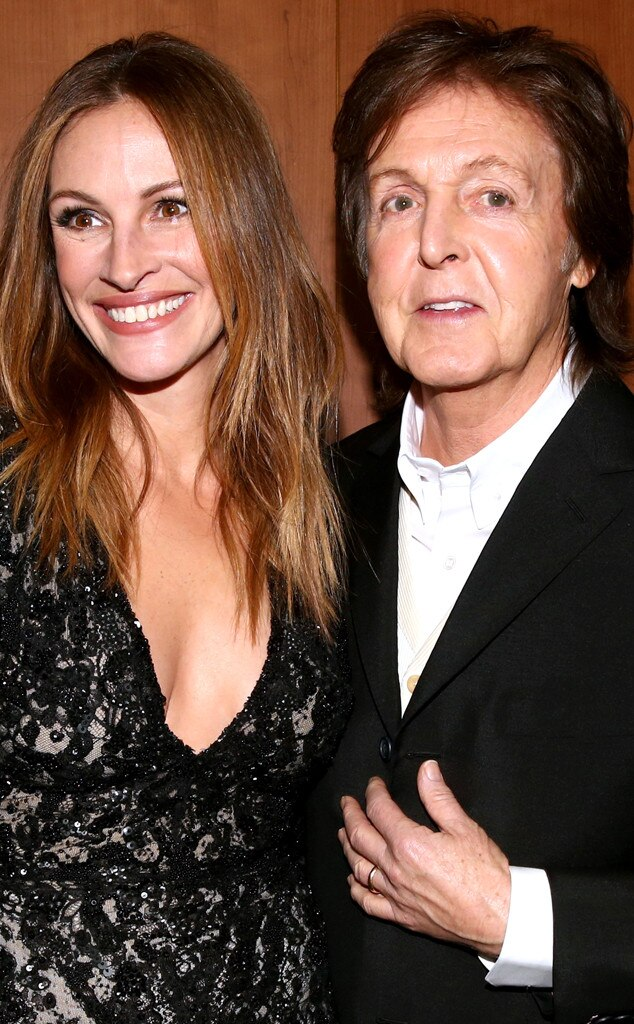 Julia Roberts, Sir Paul McCartney, Grammy's, Candids