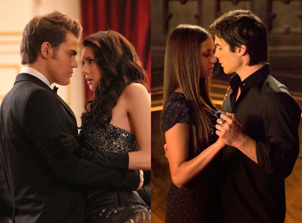 Love Triangles, The Vampire Diaries