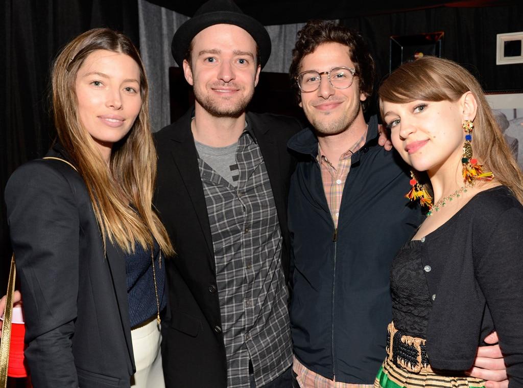 Jessica Biel, Justin Timberlake, Andy Samberg, Joanna Newsom