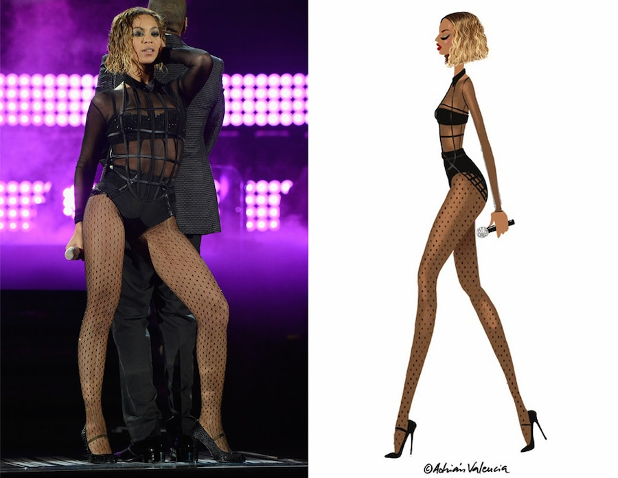 Beyonce, Adrian Valencia