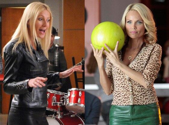 Gwyneth Paltrow, Kristin Chenoweth, Glee