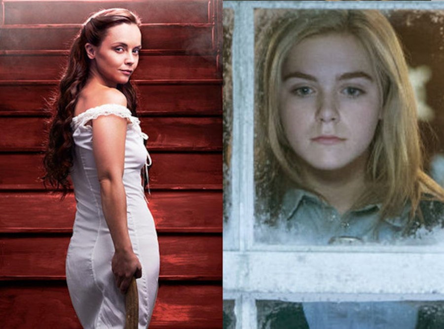 Christina Ricci, Lizzie Borden, Kiernan Shipka, Flowers in the Attic