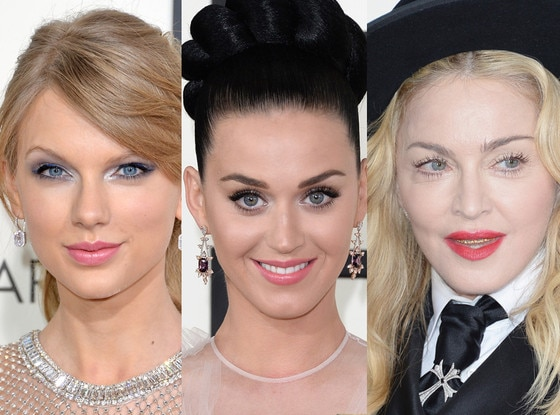 Taylor Swift, Katy Perry, Madonna
