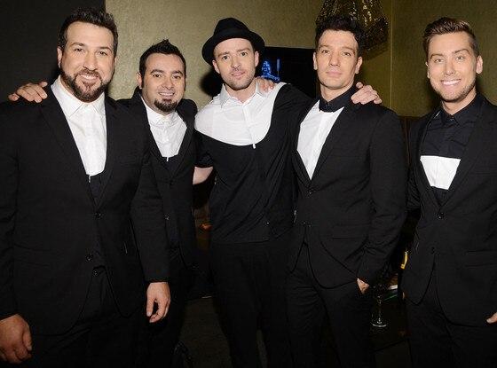 Joey Fatone, Chris Kirkpatrick, Justin Timberlake, JC Chasez, Lance Bass, N'Sync
