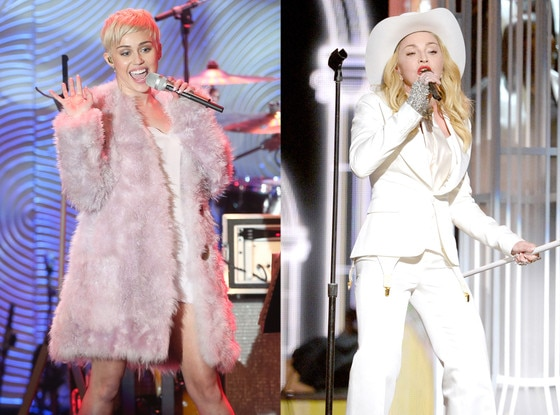 Madonna, Miley Cyrus