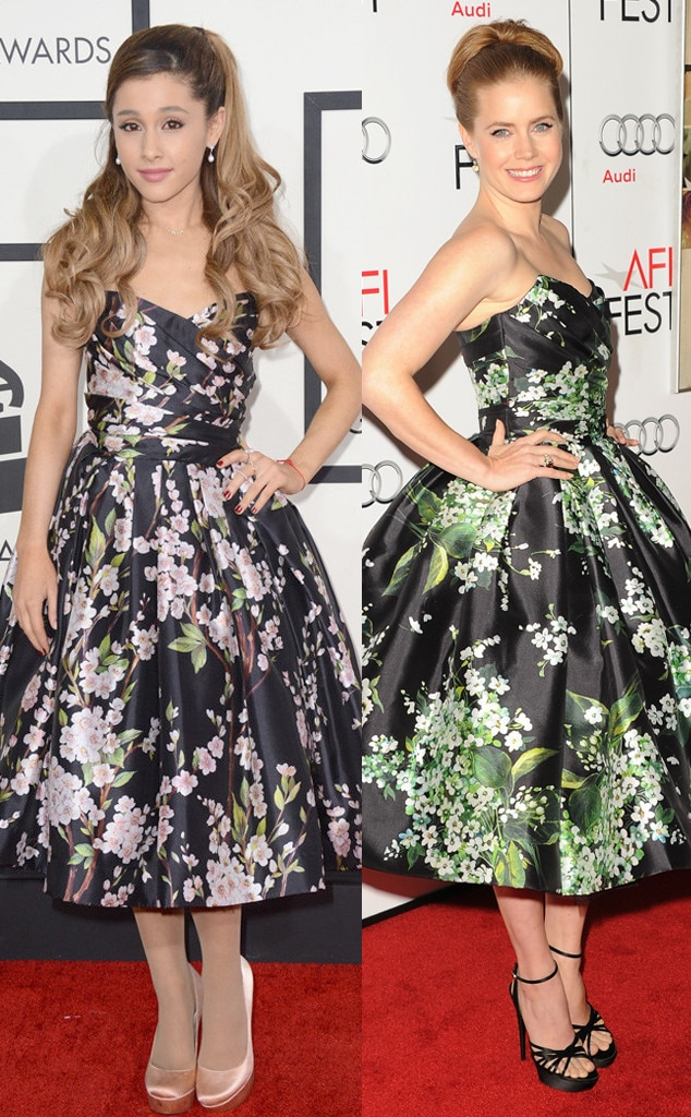 Ariana Grande, Amy Adams