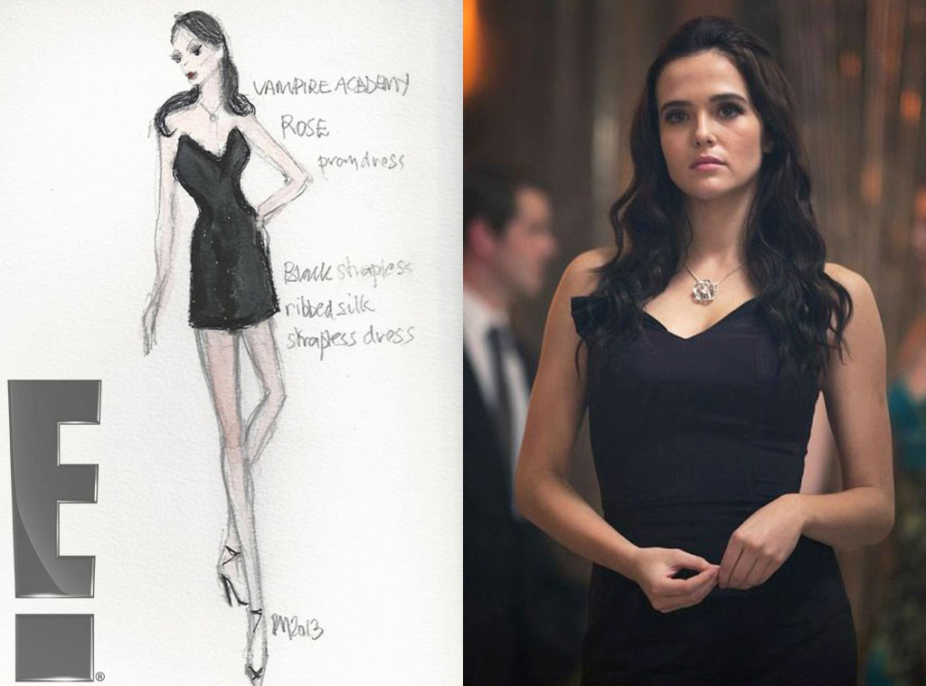 Rose's prom dress, Exclusive Vampire Academy Costume