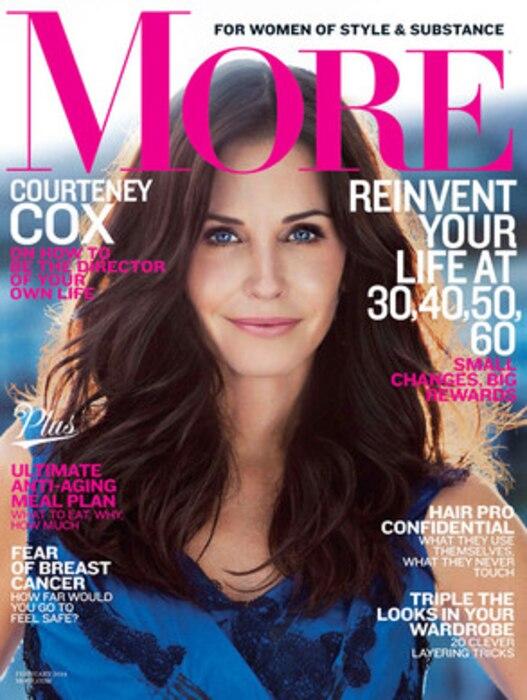 Courteney Cox, More Magazine