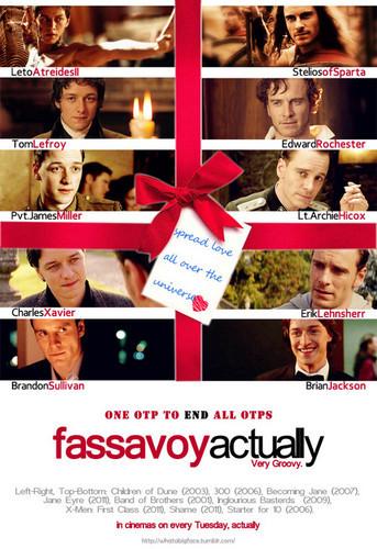 Fassbender, McAvoy