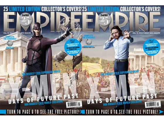 James McAvoy, Michael Fassbender, X-Men, Empire Magazine