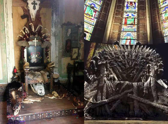 Game of Thrones Throne, American Horror Story Coven