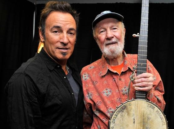 Bruce Springsteen, Pete Seeger