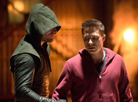 Arrow, Stephen Amell, Colton Haynes