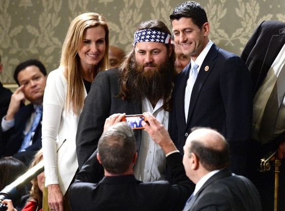 Willie Robertson, Paul Ryan, Janna Ryan