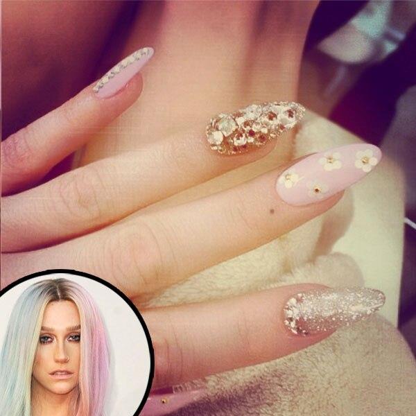 Ke$ha, Kesha, Nails, Manicure