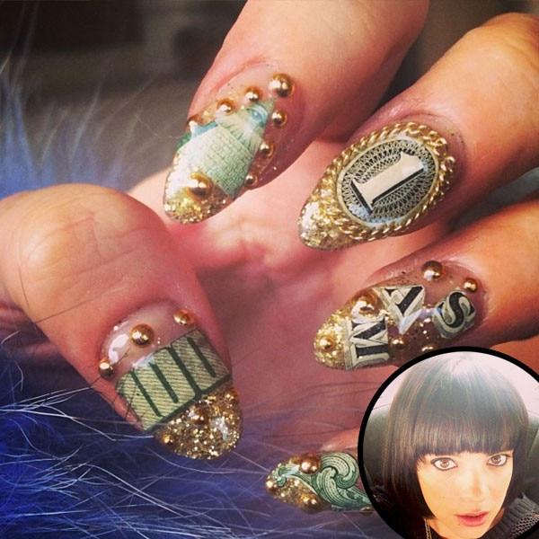 Lily Allen, Nails, Manicure