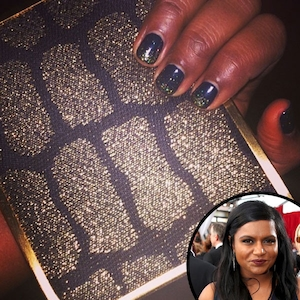 Mindy Kaling, Nails, Manicure