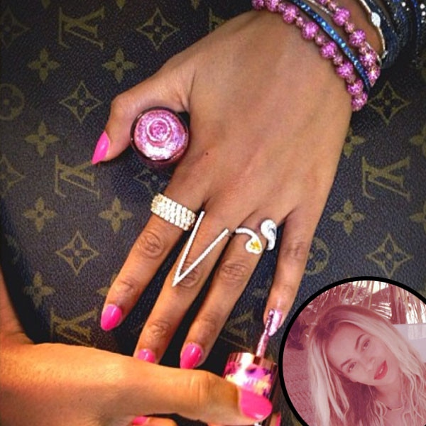 Beyonce, Nails, Manicure