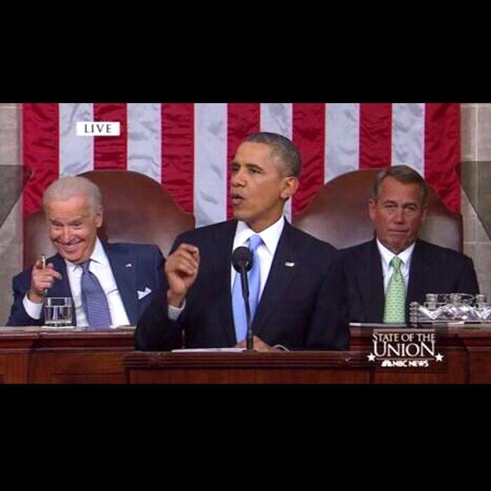 Barack Obama, John Boehner, Joe Biden, Twitter