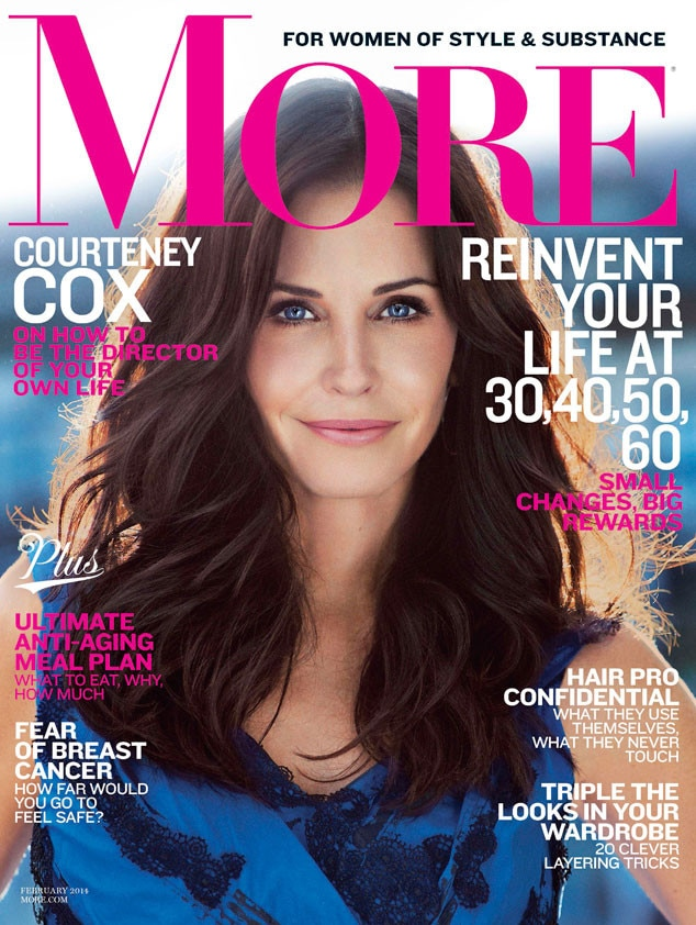 Courteney Cox, More Magazine