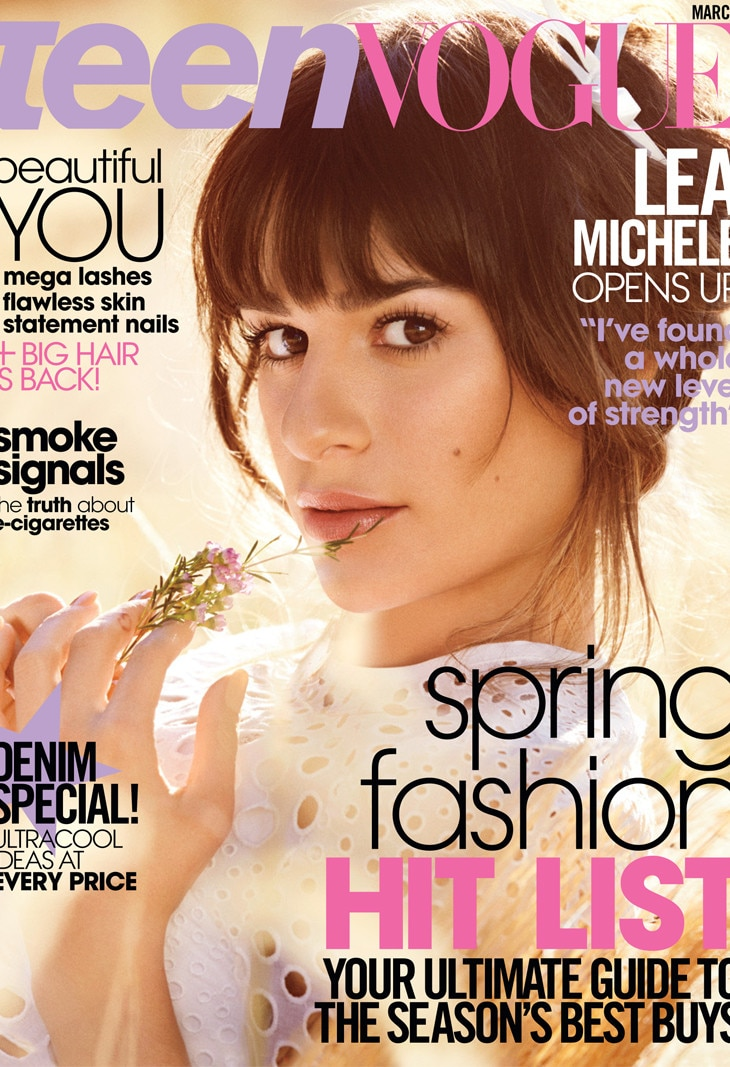 Lea Michele, Teen Vogue