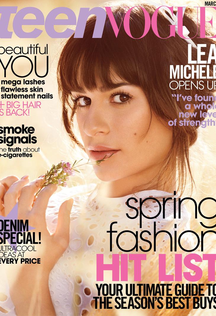 Lea Michele, Teen Vogue