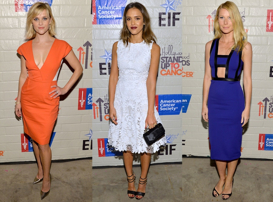Reese Witherspoon, Jessica Alba, Gwyneth Paltrow, Stand Up To Cancer