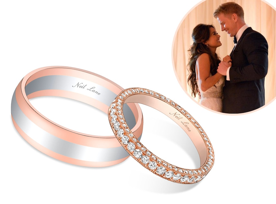 Catherine Giudici Sean Lowe Bachelor Wedding Bands