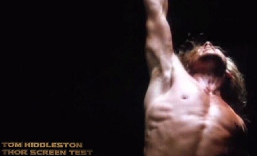 Tom Hiddleston, Shirtless