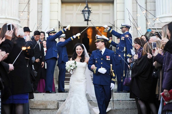 Michelle Kwan, Clay Pell, Wedding Twitter