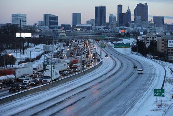 Atlanta Snow Storm Twitter