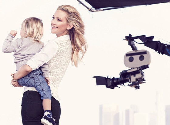 Kate Hudson, Ann Taylor, Embargoed until 11am 1.29.14