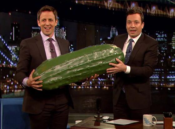 Seth Meyers, Jimmy Fallon, Pickle
