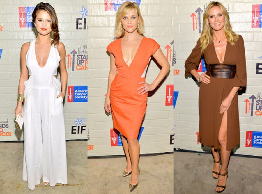 Selena Gomez, Reese Witherspoon, Heidi Klum
