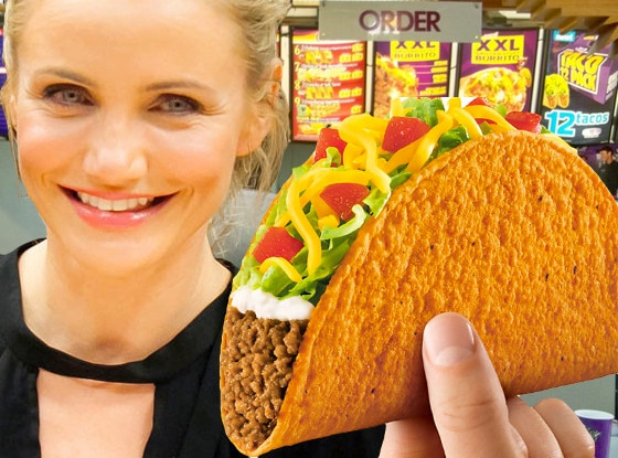 Cameron Diaz Loves Taco Bell