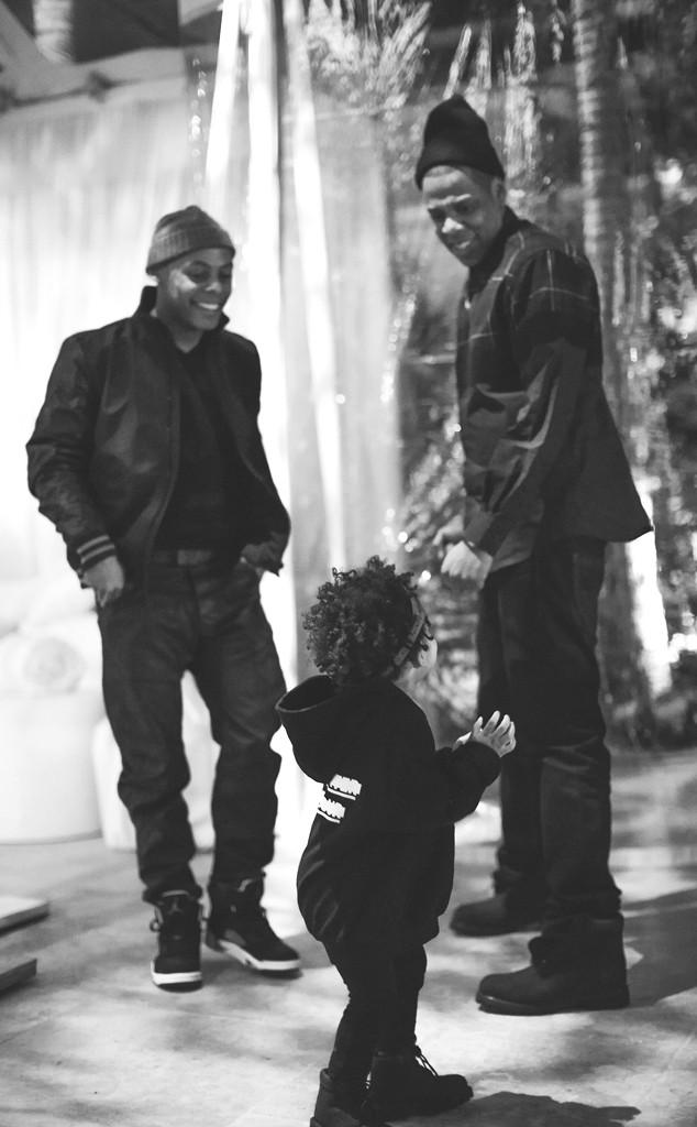 Beyonce Knowles, Blue Ivy, Jay-Z, Jay Z